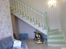 Лестница на второй этаж (6 фото) - №39