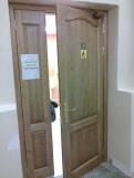 Двери из массива для санузла