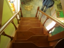 """Лестница """"гусиный шаг"""", сосна (2 фото) - №5"""