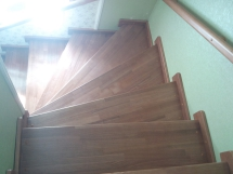 Деревянные лестницы на второй этаж (9 фото) - №15
