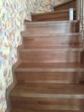 Лестница на второй этаж из массива дерева (7 фото) - №36