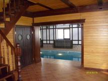 Деревянные двери для бани, сауны