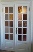 Двери межкомнатные белые