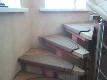 Лестница из массива дерева (6 фото) - №1