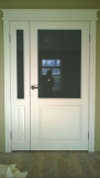 Двери из массива сосны с покрытием эмалью