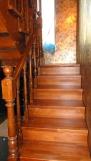 Деревянная лестница с отделкой (10 фото) - №19