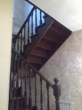 Деревянные лестницы для коттеджа (11 фото) - №37
