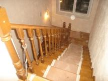 Деревянная лестница. Ступени, отделка (28 фото) - №38