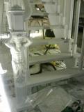 Лестница на чистовом деревянном косоуре (15 фото) - №44
