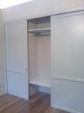 Раздвижные деревянные двери для шкафа