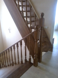 Лестница из дуба (9 фото) - №41