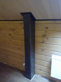 Кесонные потолки из дерева 10