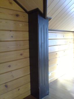Кесонные потолки из дерева 12