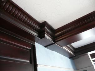 Кесонные потолки из дерева 19