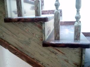 Лестница в стиле Прованс, модель 17