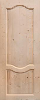 Дверное полотно из массива, модель 14