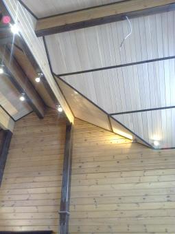 Кесонные потолки из дерева 3