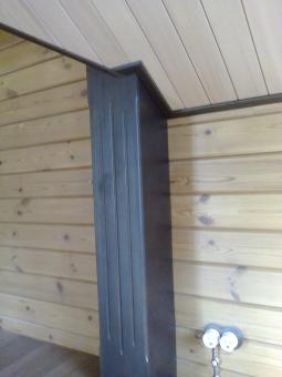 Кесонные потолки из дерева 13