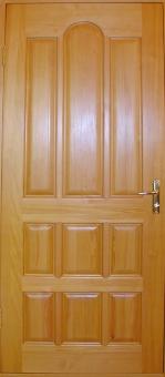 Дверь из массива сосны эконом, модель 4