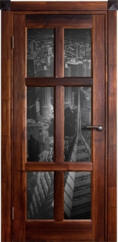 Дверь из массива Стандарт, остекленная