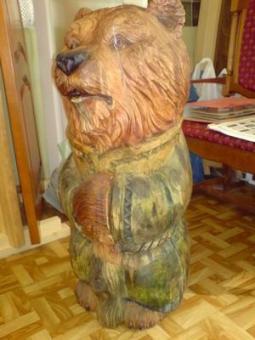 Резьба по дереву. Скульптуры