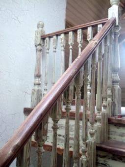 Лестница в стиле Прованс, модель 12