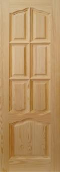 Дверь из массива эконом, модель 12
