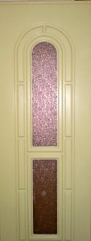 Дверь из массива щитовая со стеклом, модель 1