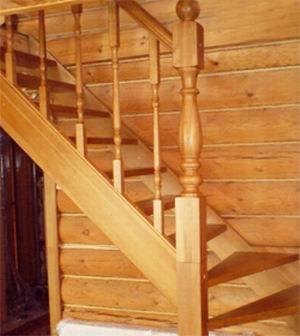 Лестница из ДУБА №6
