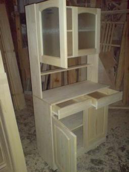 Мебель из массива дерева на заказ, модель 3