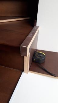 Балясины для лестницы на металлокаркасе