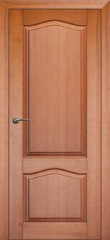 Межкомнатная дверь из массива, глухое полотно