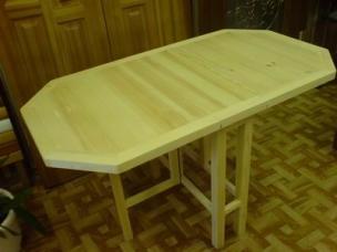Столик из массива дерева на заказ, модель 5