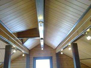 Кесонные потолки из дерева 7