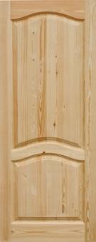 Дверное полотно из массива сосны, модель 7