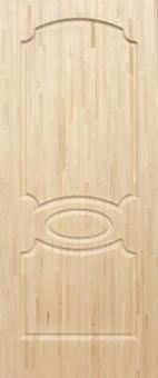 Дверное полотно из мебельного щита, модель 8