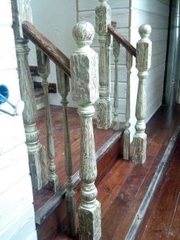 Лестница в стиле Прованс, модель 7