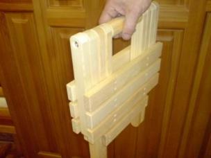 Складная мебель из дерева на заказ, модель 16