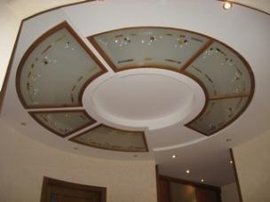 Витражные светильники и элементы декора