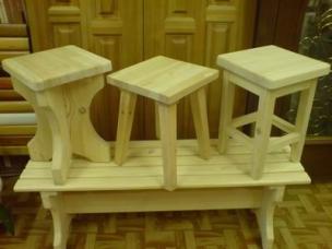 Мебель из массива на заказ, модель 14
