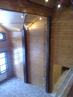 Кесонные потолки из дерева 9