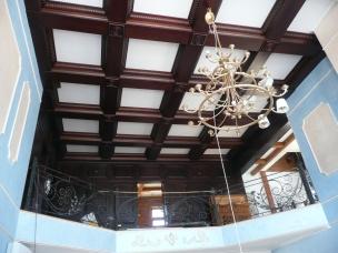 Кесонные потолки из дерева 16