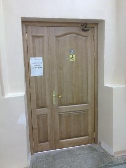 Дверной блок из массива дерева