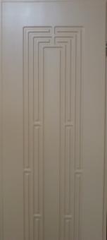 Дверь из массива щитовая, глухое полотно, модель 2