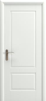 Дверь межкомнатная белая, покрытие эмаль