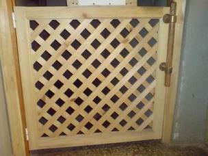 Двери и решетки декоративные для дома, дачи, сада, модель 10