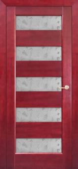 Межкомнатная дверь из массива с покрытием