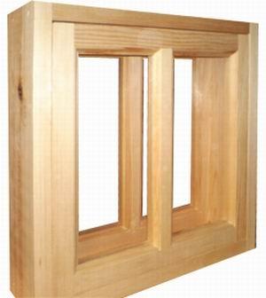 Деревянный оконный блок из сосны