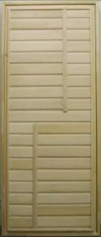 Дверь из массива эконом-класса, модель 22