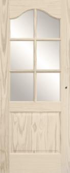 Дверь из массива сосны эконом-класса, модель 17